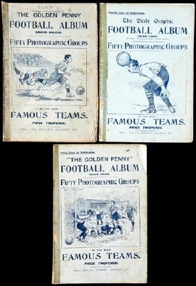 Three consecutive editions of The Golden Penny Football