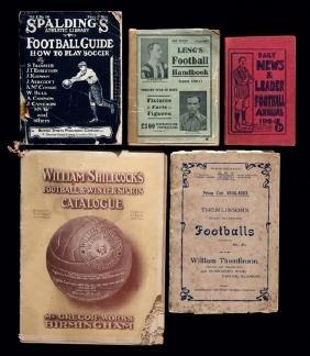 Five pre-First World War football & sporting