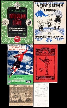 Four programmes for matches v European/World