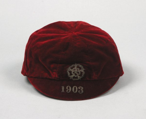 4: A red England v Wales international cap season 1902-