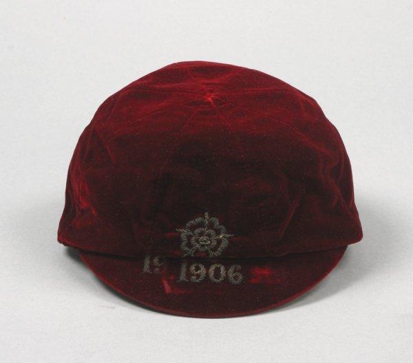7: A red England v Wales international cap season 1905-
