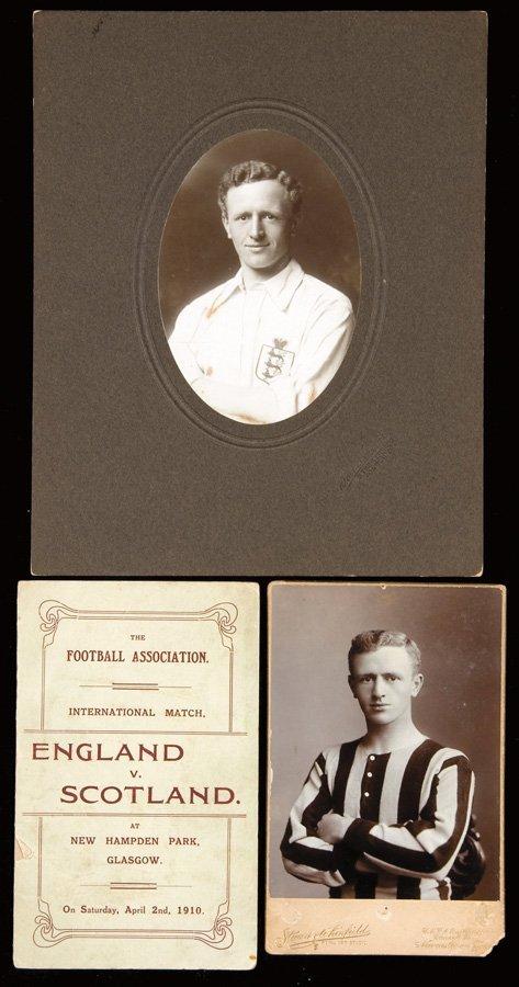 13: Harold Hardinge's Football Association itinerary fo