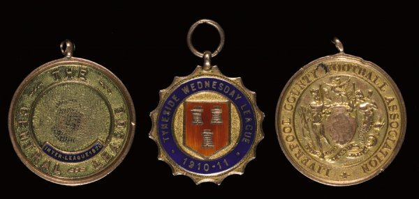 17: A group of three gold medals won by Jimmy Jones, th