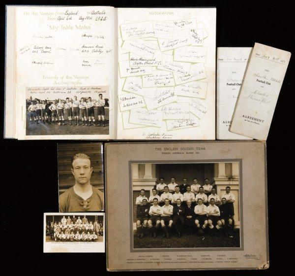 18: Memorabilia relating to the career of Charles Hanna