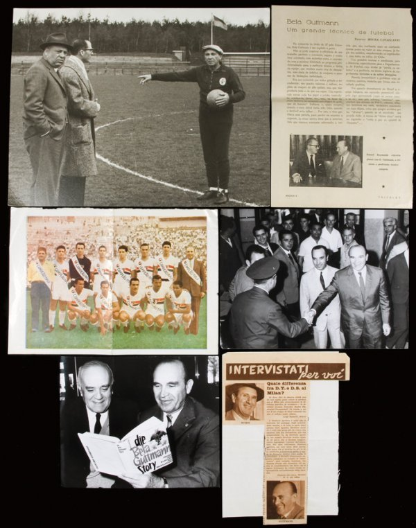 21: A collection of memorabilia relating to the career