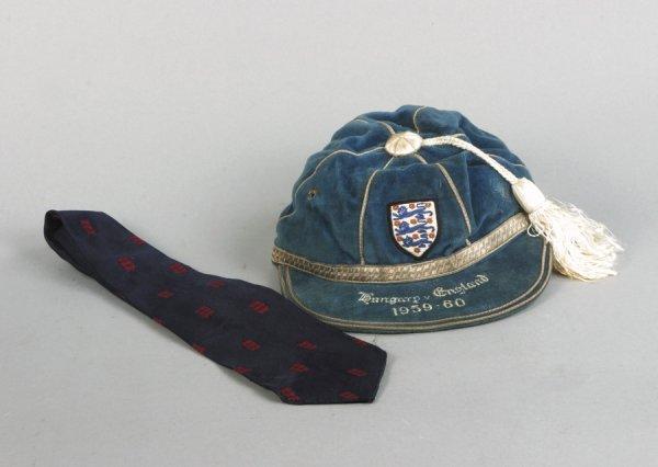 24: Dennis Viollet's debut England international cap 19