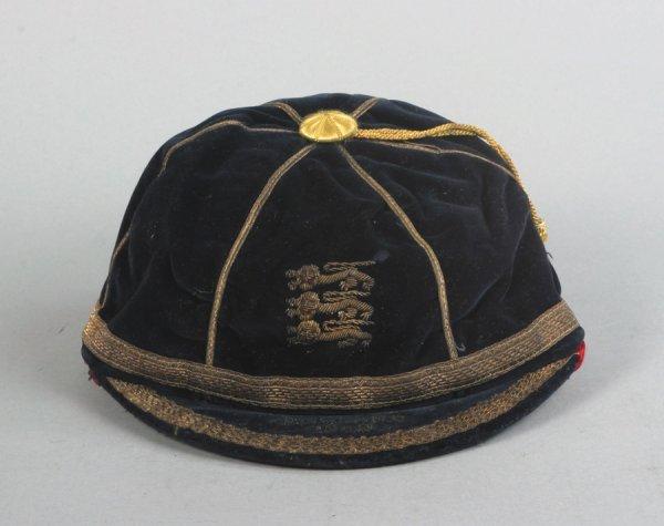 26: A dark blue England schoolboy international cap 194