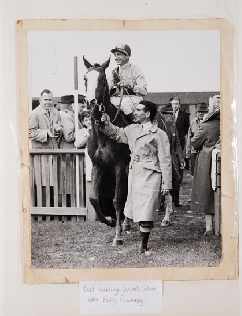 A family photograph album relating to the Newmarket