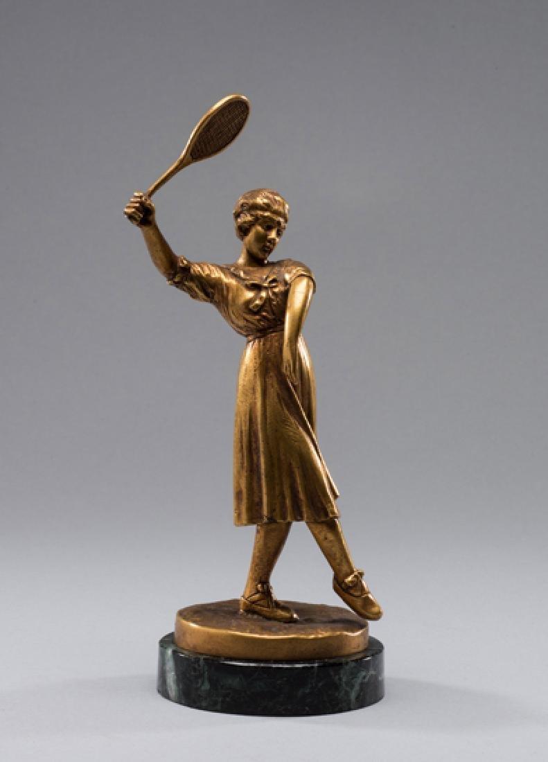 Jose Dunach (Spanish, 1886-1957) LADY TENNIS PLAYER