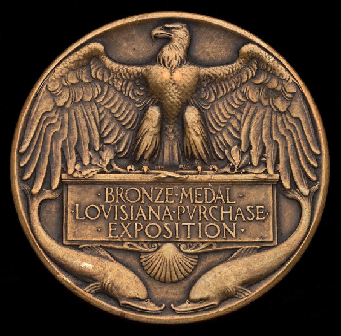 Bronze Medal of the Louisiana Purchase Exposition 1904,