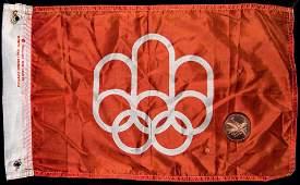 Montreal 1976 Olympic Games memorabilia, including