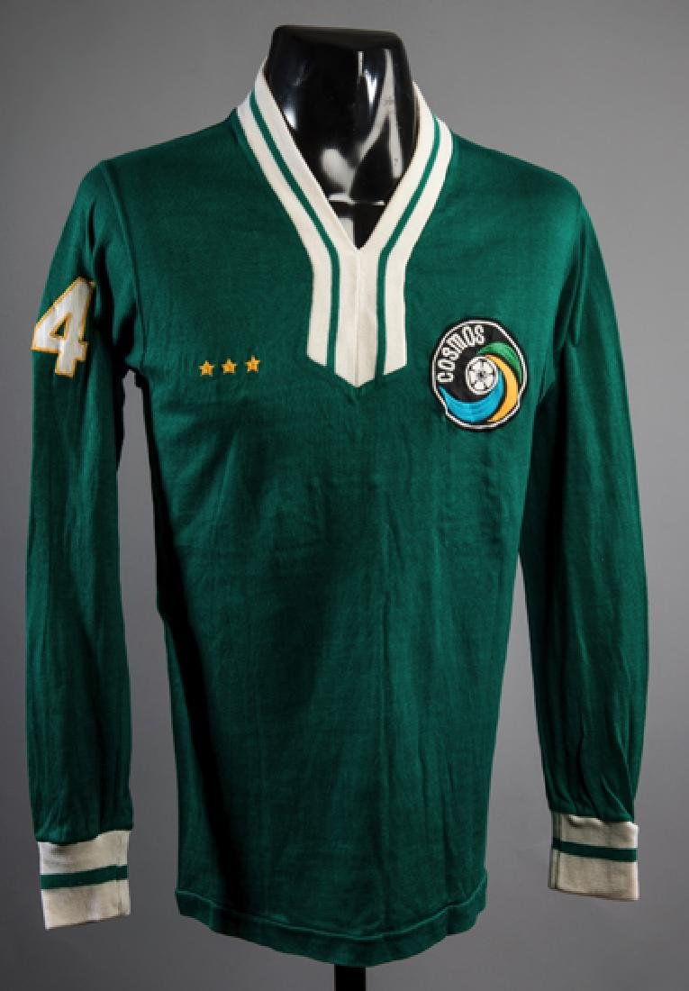 Green version of the New York Cosmos No.14 jersey