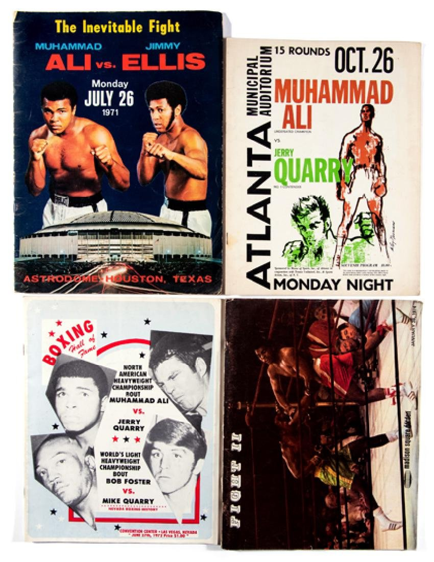 12 boxing programmes featuring Muhammad Ali, Jerry