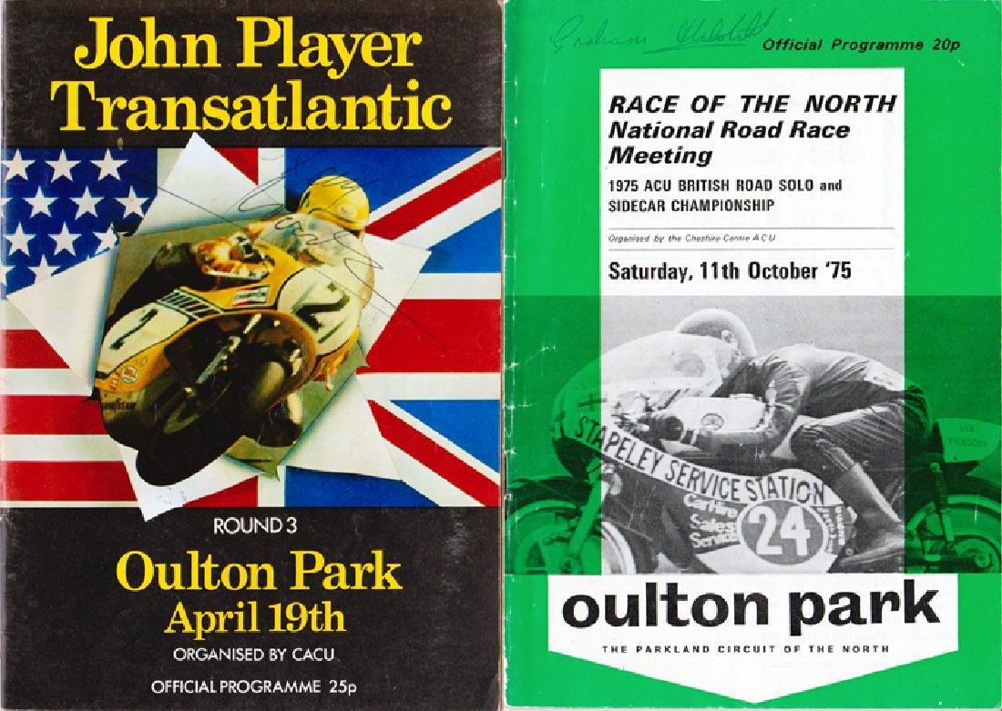 1976 multi-signed Transatlantic Challenge Oulton Park