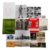 Sporting miscellany, comprising: six postcards