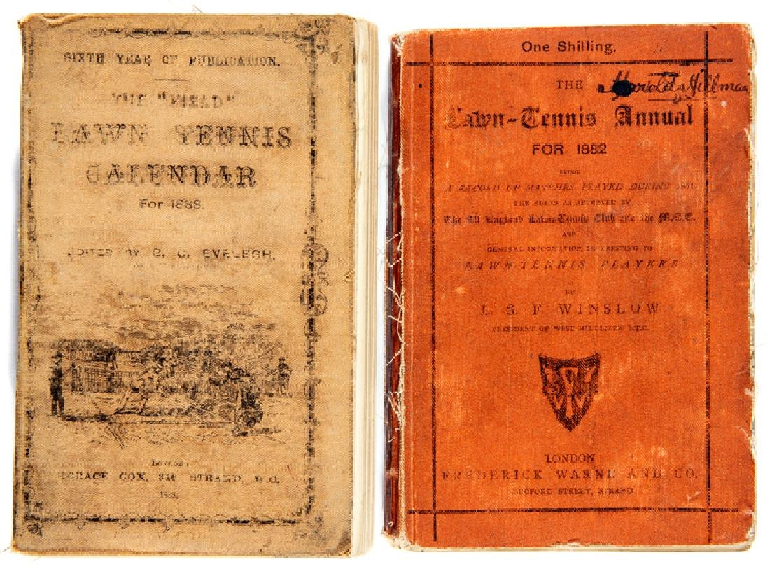 THE FIRST EVER ANNUAL PUBLISHED FOR LAWN TENNIS: The