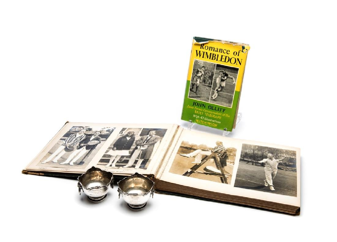 Memorabilia relating to British tennis player John