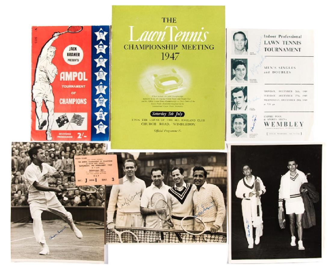 An interesting collection relating to 1947 Wimbledon