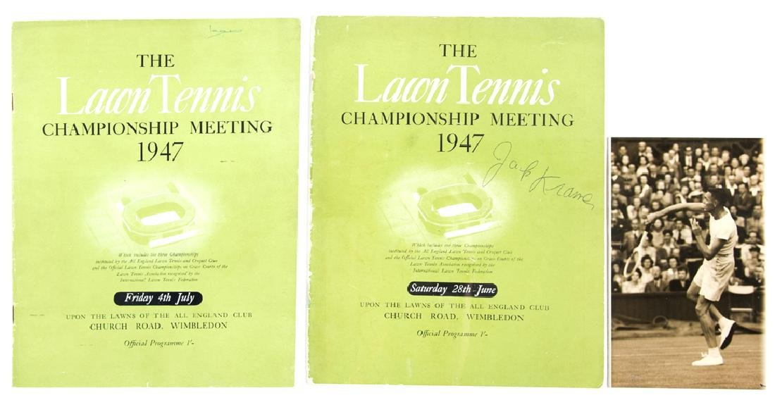 Wimbledon Lawn Tennis Championships programme for the