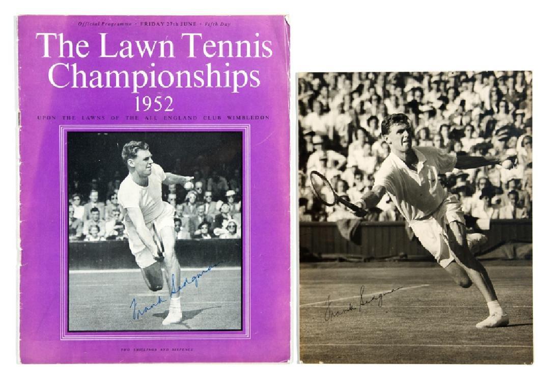 Wimbledon Lawn Tennis Championship programme Friday