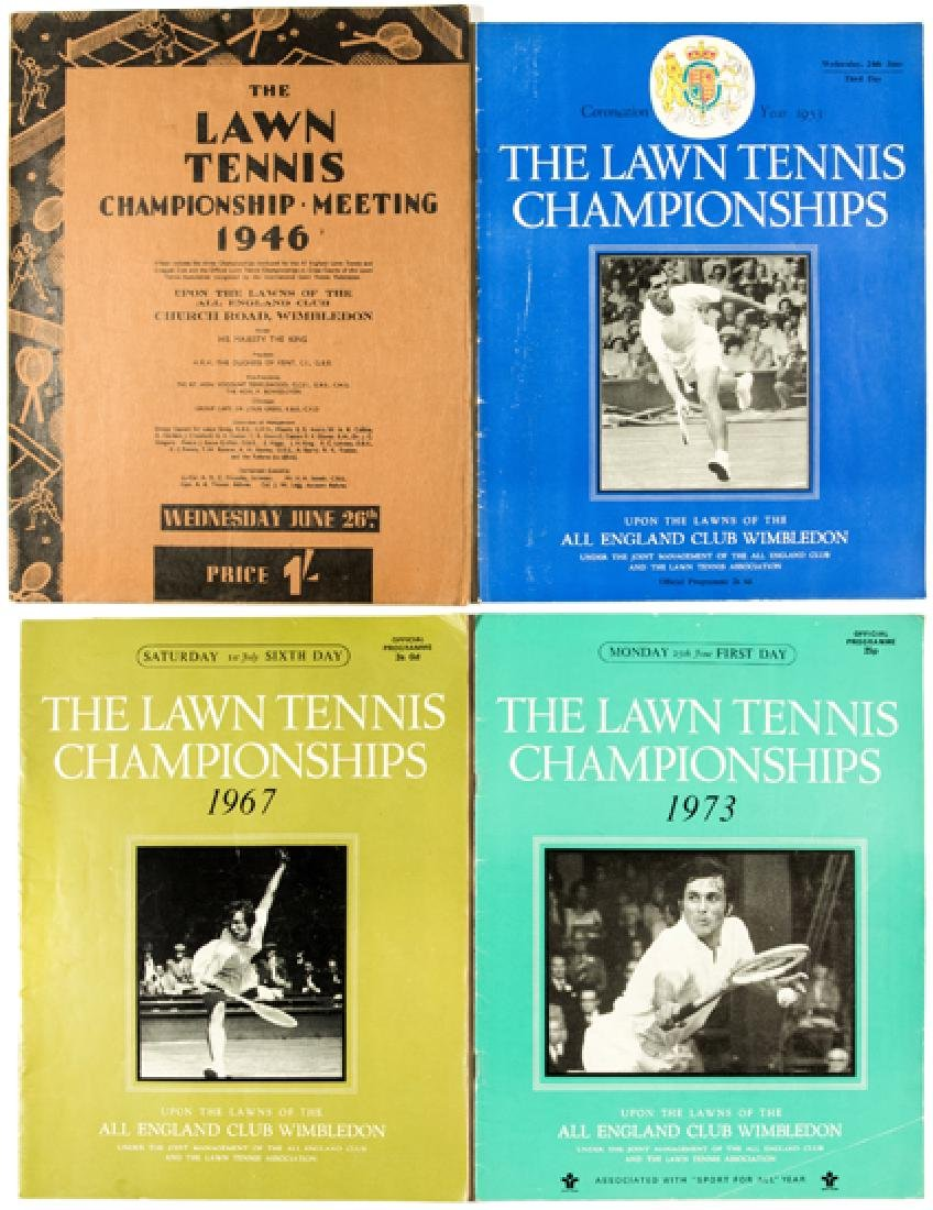 A collection of Wimbledon Lawn Tennis Championships