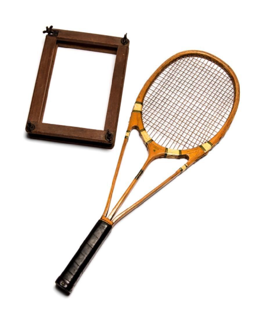 Hazell's Streamline Green Star lawn tennis racquet
