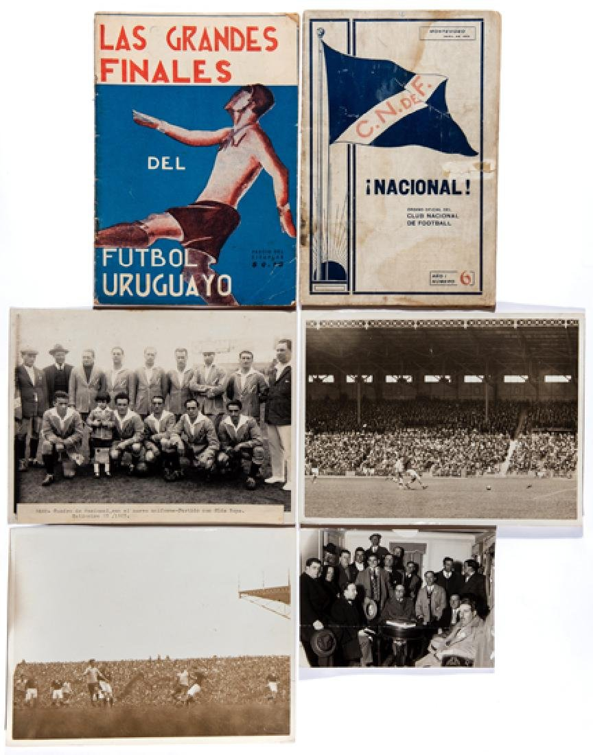 Three period photographs relating to the Uruguay gold