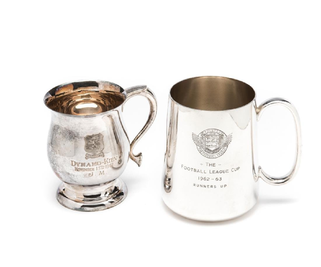 Joe Mercer Aston Villa FC runners-up tankard for the