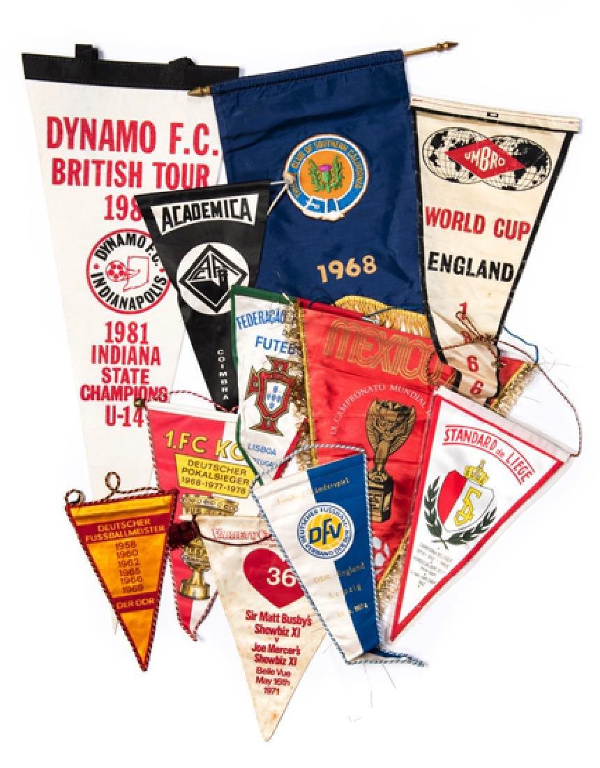 Joe Mercer pennant collection, 1.FC Koln, Portuguese