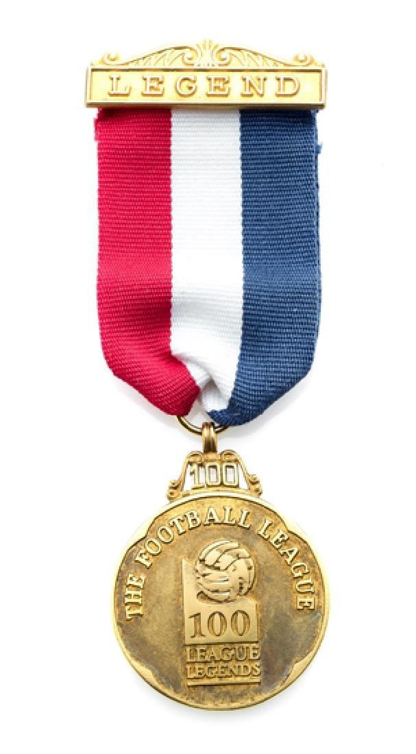 9ct. gold Professional Footballers' Association 100