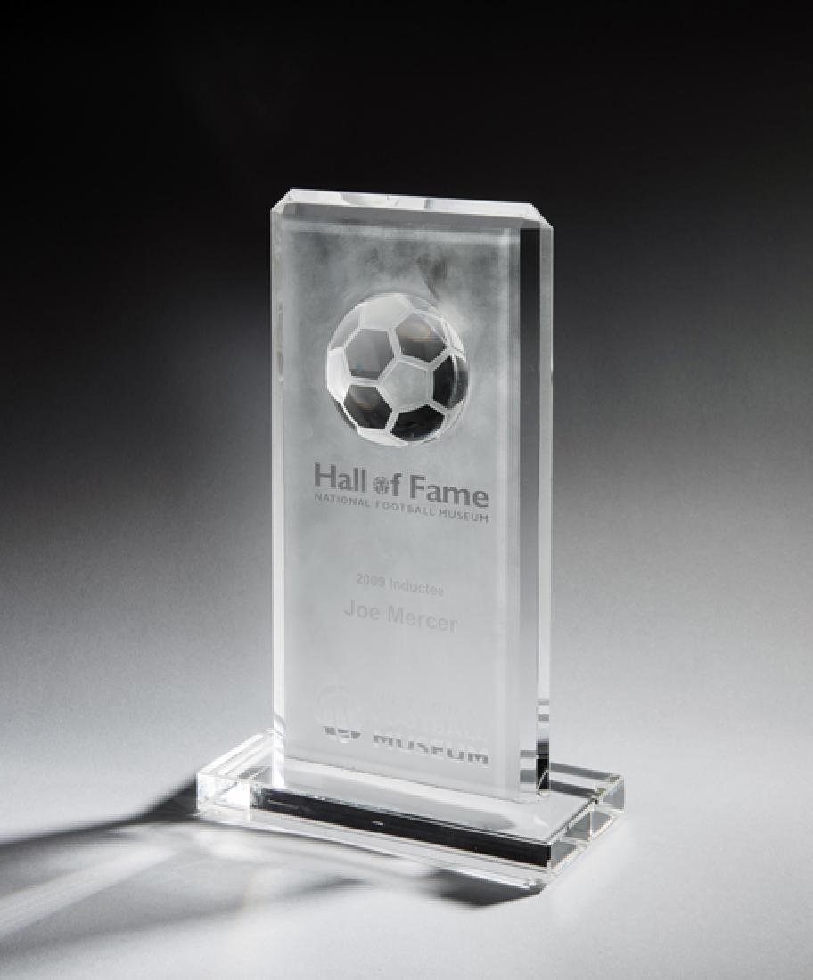 National Football Museum Hall of Fame Joe Mercer 2009