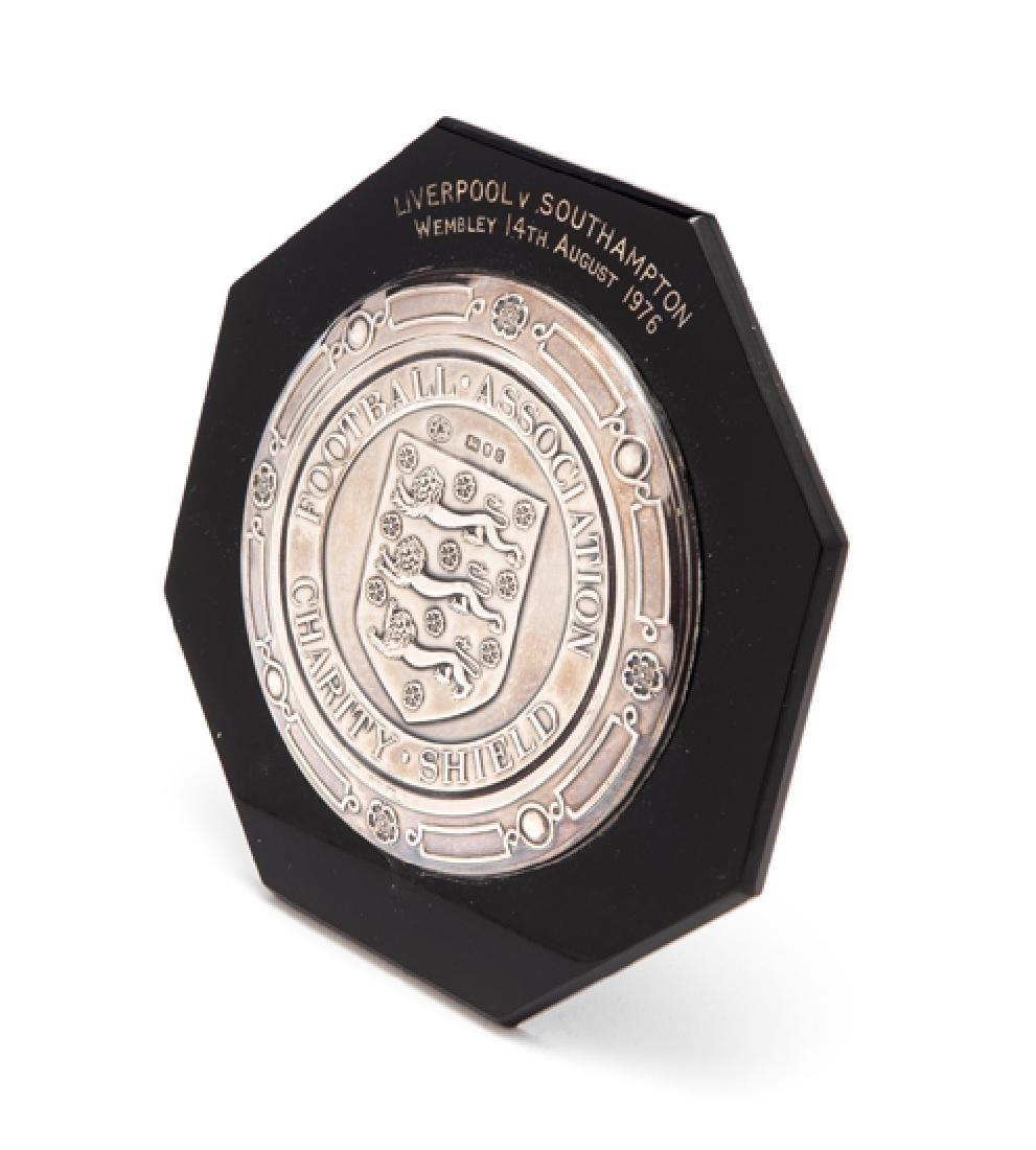 Terry McDermott's Liverpool FC silver miniature replica
