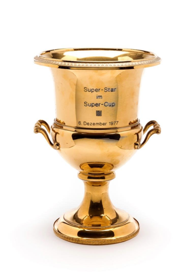 UEFA Super Cup Man of the Match Award presented to