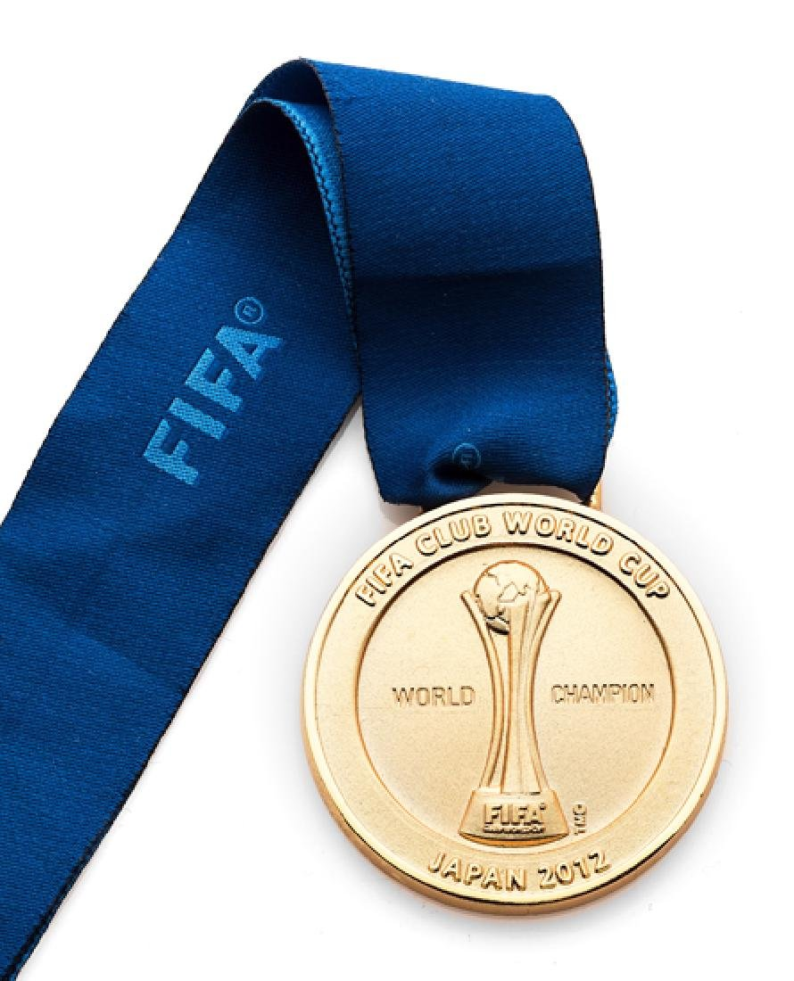 2012 FIFA Club World Cup winner's medal awarded to