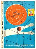 Programme for the 1954 World Cup Final West Germany v