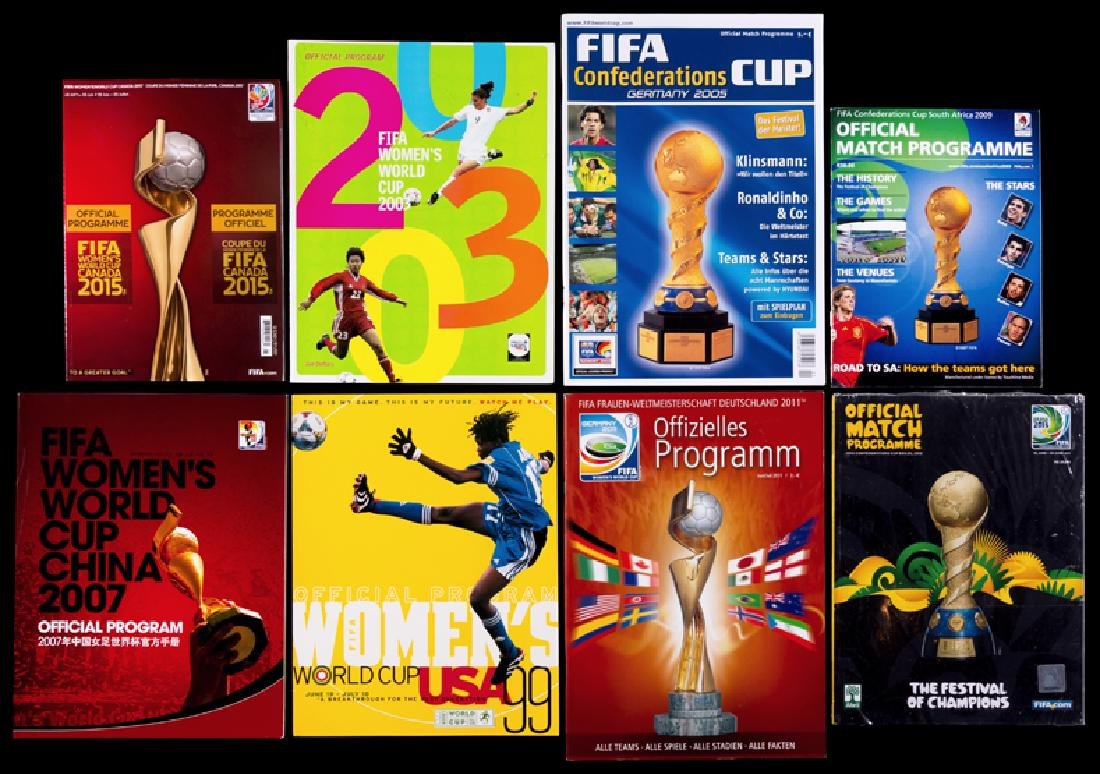 World Cup and other FIFA tournament programmes, - 2