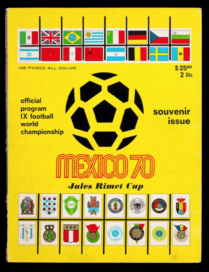 World Cup and other FIFA tournament programmes, - 3