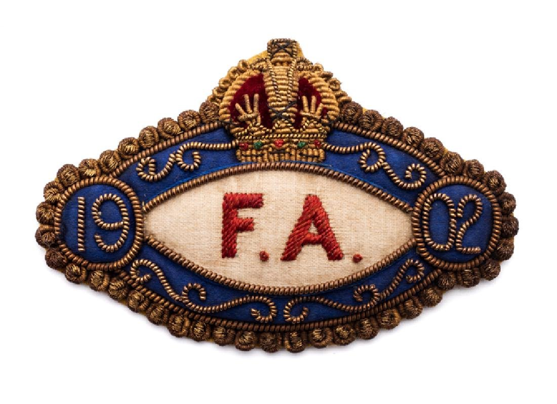 Football Association badge issued to Councillor A.G.