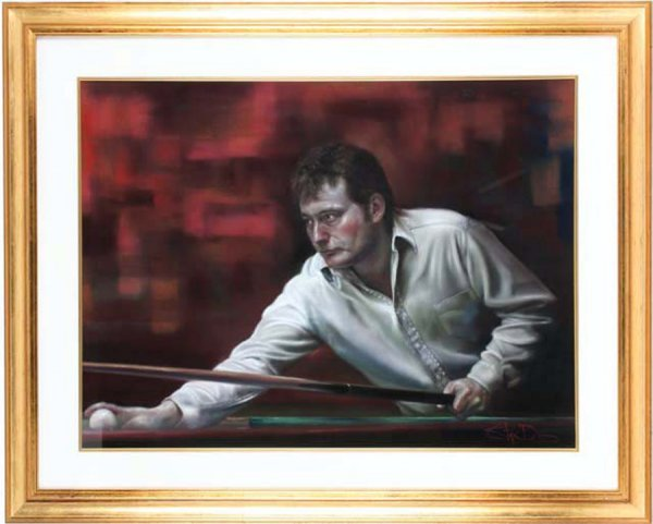 9: Stephen Doig (contemporary, born 1964) JIMMY WHITE s
