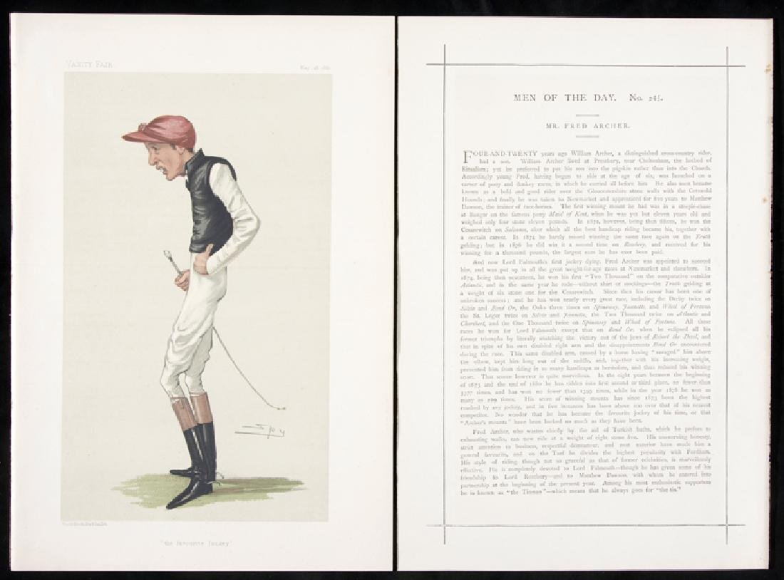 A collection of twelve Vanity Fair Prints of Horse