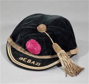 Teddy Jones England Baseball Association black velvet