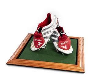 Mick Hucknall Manchester United Memorabilia Collection: