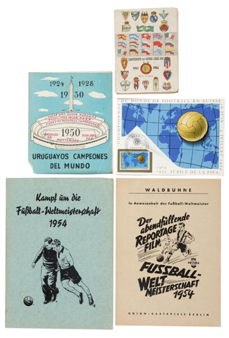 World Cup miscellany, five booklets/publications