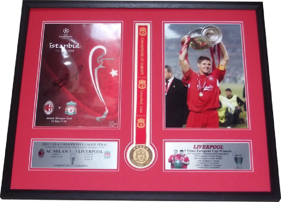 Liverpool 2005 Champions League winning captain Steven
