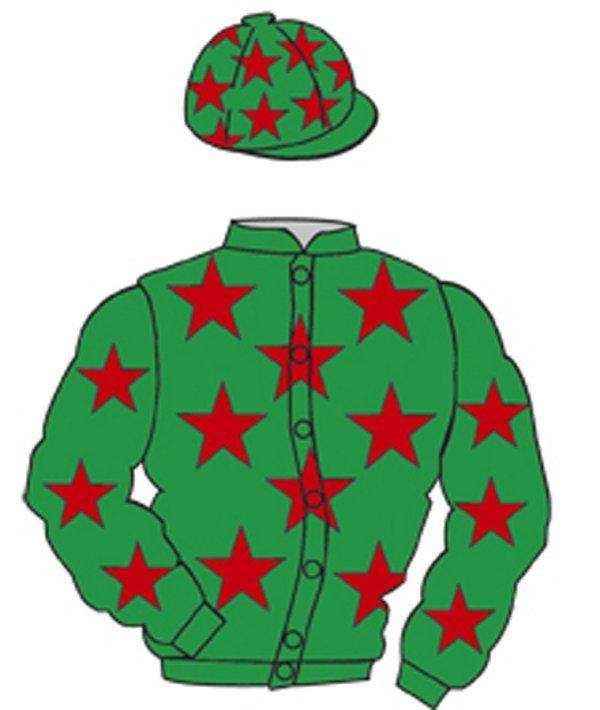 12: Distinctive Colours: EMERALD GREEN, RED stars