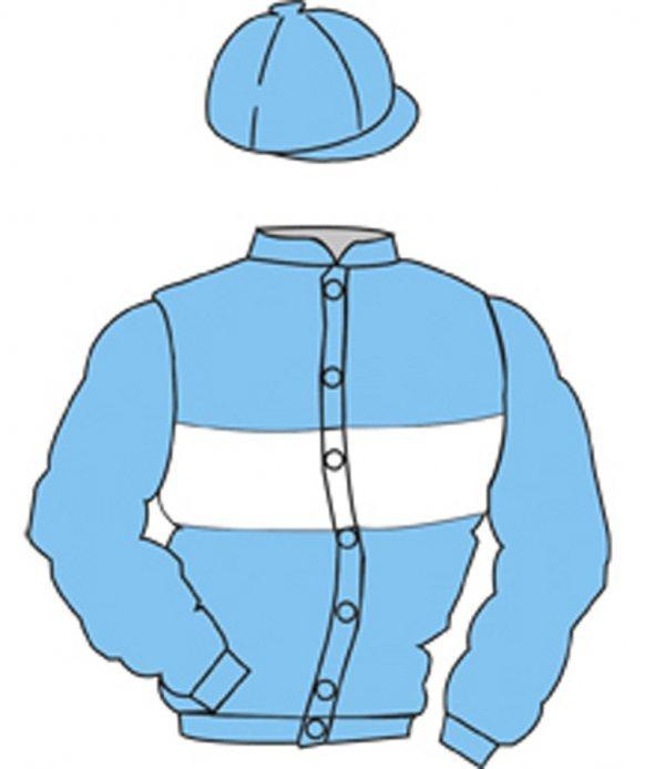 13: Distinctive Colours: LIGHT BLUE, WHITE hoop
