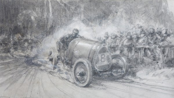 23: Frederick Gordon Crosby (1885-1943) RAYMOND MAYS IN