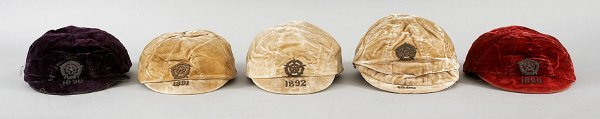 4: A red England v Wales international cap 1890  This m