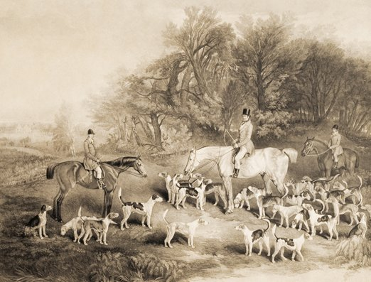 18: After Heywood Hardy JOHN MUSTERS AND HIS HOUNDS MEE
