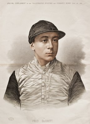 23: Six portraits of Victorian Jockeys published by the